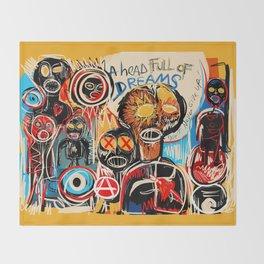 Head full of dreams Throw Blanket