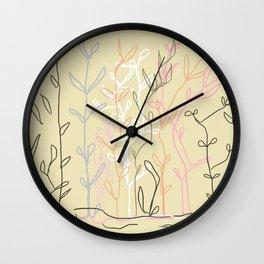 Japanese soul Wall Clock
