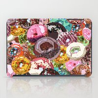 donuts iPad Cases featuring Donuts by Tina Mooney