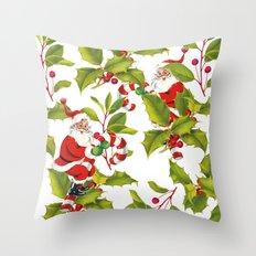 Christmas Pattern 2 Throw Pillow