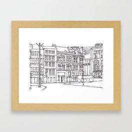 Sandhill, Newcastle Upon Tyne Framed Art Print
