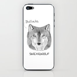Swearwolf - What We Do In The Shadows iPhone Skin