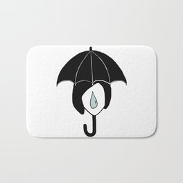 Rainy days Bath Mat