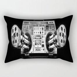 Ghetto Blaster Rectangular Pillow