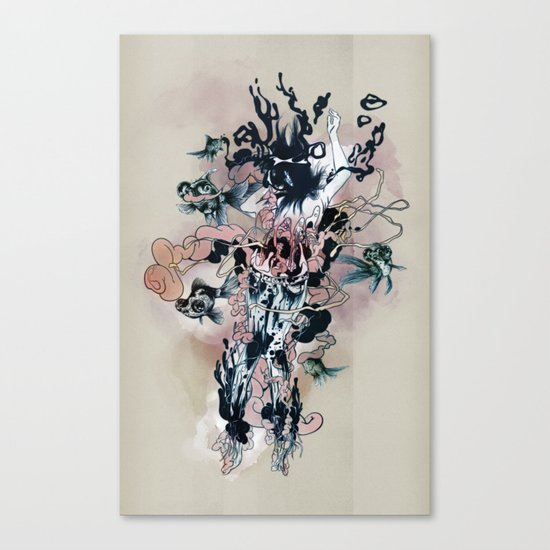 Decay (Full) Canvas Print