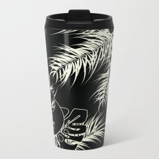 Tropical pattern 036 Metal Travel Mug