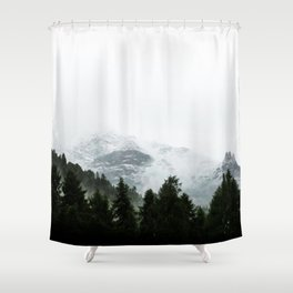 The Way Through The Woods Shower Curtain