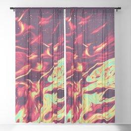 Damsel in Distress Sheer Curtain