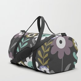 Nocturnal flowers Duffle Bag
