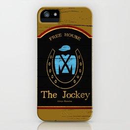 The Jockey - Shameless iPhone Case