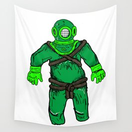 Lost Space Man Wall Tapestry