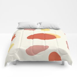 If a Sunset Melted Into Puddles Comforters
