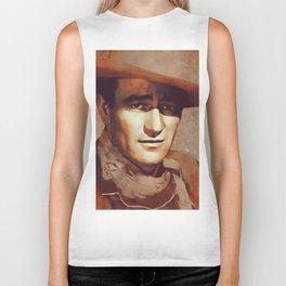 John Wayne, Hollywood Legend Biker Tank