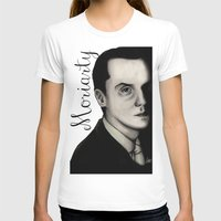 moriarty T-shirts featuring Moriarty by LiseRichardson