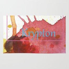 Elementals: Krypton Rug
