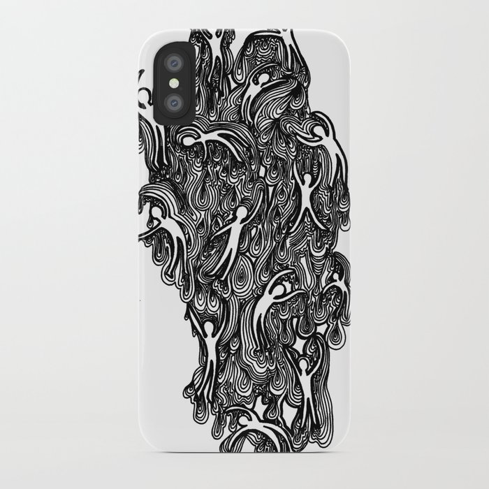 Ooey Gooey Men 3 iPhone Case