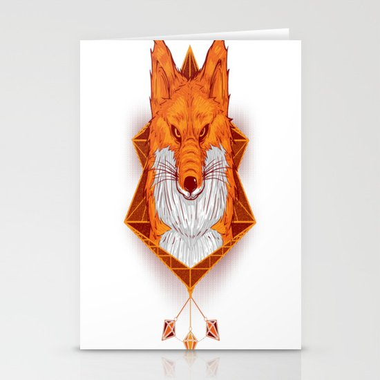 Firefox Stare Stationery Cards
