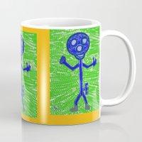key Mugs featuring Key by Huiskat