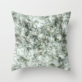 Tiny Fish Throw Pillow