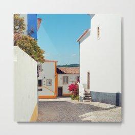 Obidos, Portugal (RR 177) Analog 6x6 odak Ektar 100 Metal Print