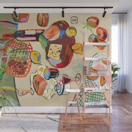 WINE BREAK Wall Mural