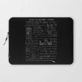Theory of relativity : spacetime Laptop Sleeve