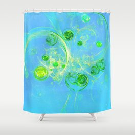 Summer Tree of Life - #Abstract #Art by Menega Sabidussi #society6 Shower Curtain