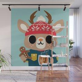 Deer in a Sweater Wall Mural