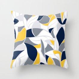 Abstract winter mood II Throw Pillow