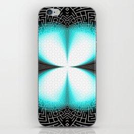 Digital Butterfly iPhone Skin