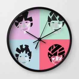 Geometric Lads Wall Clock