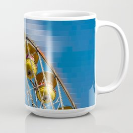 Ferris Wheel and Blue Skies Coffee Mug