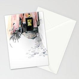 Winter street Stationery Cards