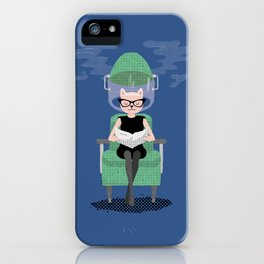 The Feline Beauty Parlour iPhone Case