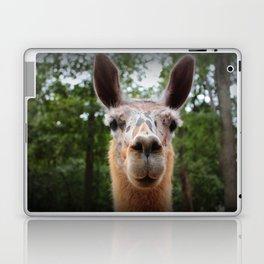 Speckled Face Llama Laptop & iPad Skin