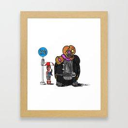"""My Nemesis """"T""""-toro! Framed Art Print"""