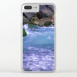 MED SEA Clear iPhone Case