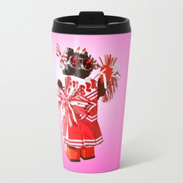 Cheerbot Pink Travel Mug