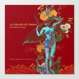 Nascita di Venere[The Birth of Venus ] Canvas Print