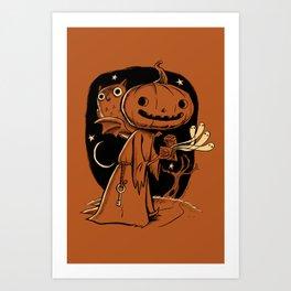 Hallowe'en Box Art Print