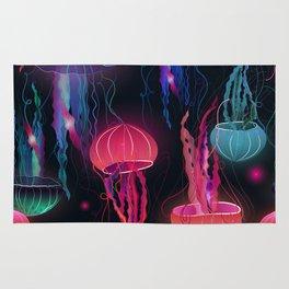 Pink Jellyfish Rug