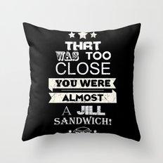 Jill Sandwich Throw Pillow