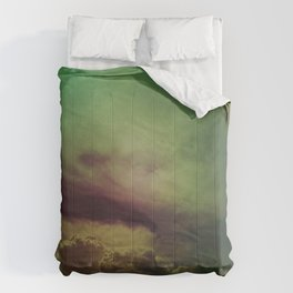 rising clouds Comforters