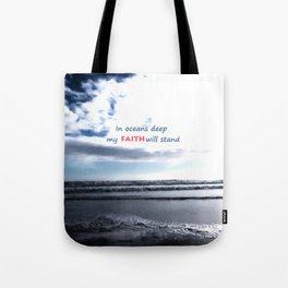 Oceans Deep Tote Bag