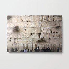 Jerusalem - The Western Wall - Kotel #4 Metal Print