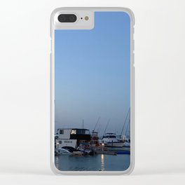 Boats at Nelsons Bay, NSW, Australia Clear iPhone Case