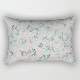 April Blooms Rectangular Pillow