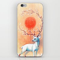 spring iPhone & iPod Skins featuring Spring Spirit by Freeminds