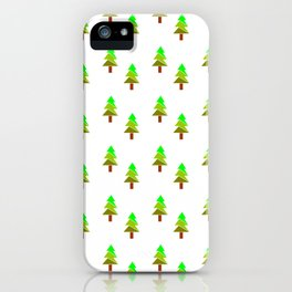 Christmas tree 5 iPhone Case