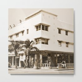 Collins Avenue, Miami Beach Metal Print
